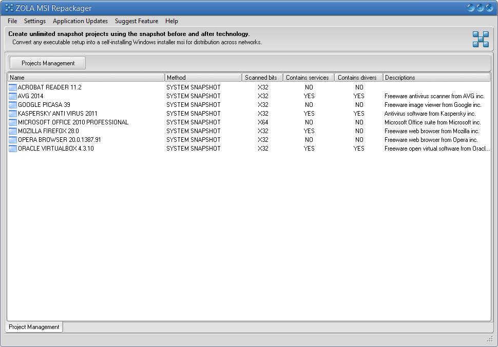 Software Repackaging - Convert EXE to MSI Package